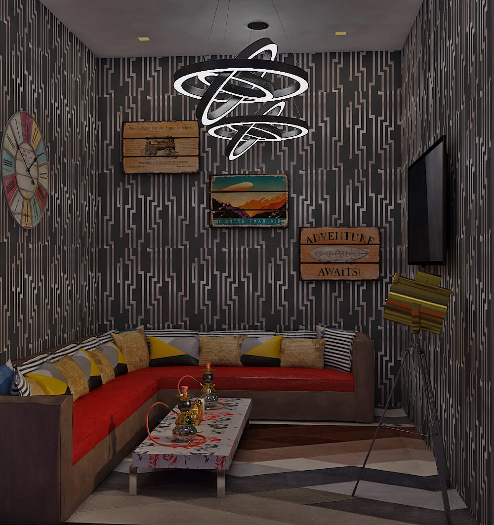 Confession Room In Cafe
